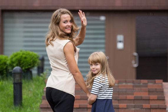 Žygimanto Gedvilos / 15min nuotr./Milana Jašinskytė su dukra Daniele