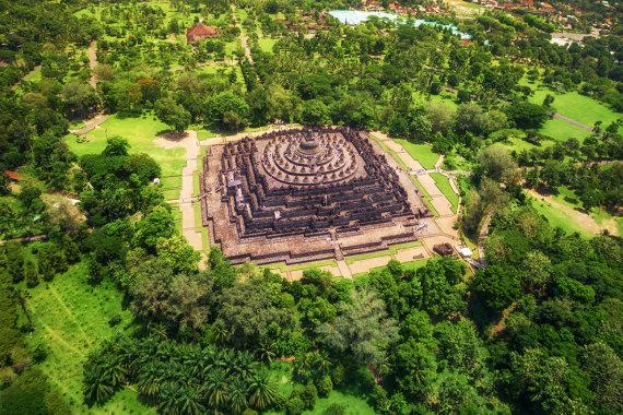 Shutterstock nuotr./Borobudūras, Indonezija
