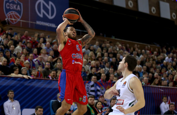 Getty Images/ Euroleague nuotr./Mike'as Jamesas