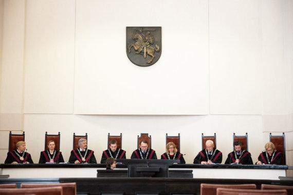 Žygimanto Gedvilos / 15min nuotr./Konstitucinis Teismas