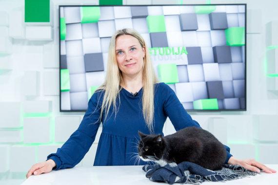 Luko Balandžio / 15min nuotr./15min studijoje – veterinarijos gydytoja Agnė Stasiūnienė
