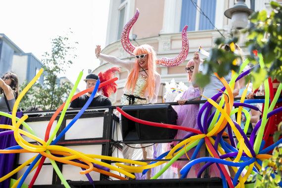 """Luko Balandžio / 15min nuotr./""""Baltic Pride"""" 2019"""