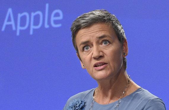 """AFP/""""Scanpix"""" nuotr./Margrethe Vestager"""