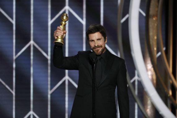 """""""Reuters""""/""""Scanpix"""" nuotr./Christianas Bale'as už """"Valdžią"""" jau gavo """"Auksinį gaublį"""""""