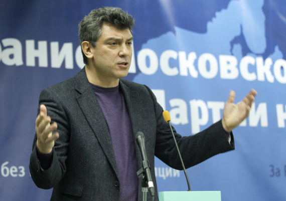 """""""Scanpix""""/""""RIA Novosti"""" nuotr./Borisas Nemcovas"""