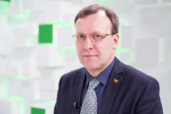 Luko Balandžio / 15min nuotr./15min studijoje kandidatų į prezidentus debatai – M.Puidokas ir N.Puteikis