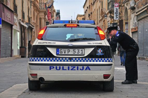 123rf.com nuotr./Policija Maltoje