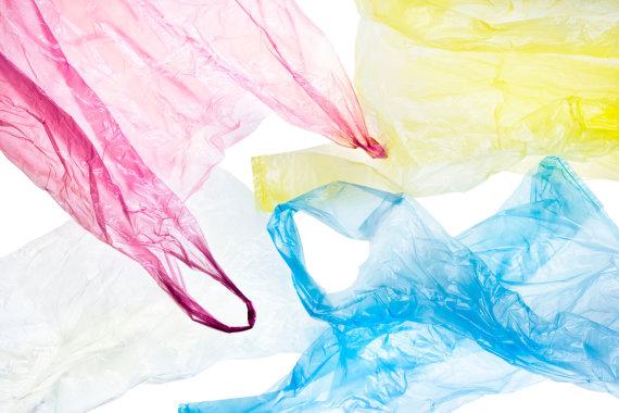 Vida Press nuotr./Plastikiniai maišeliai
