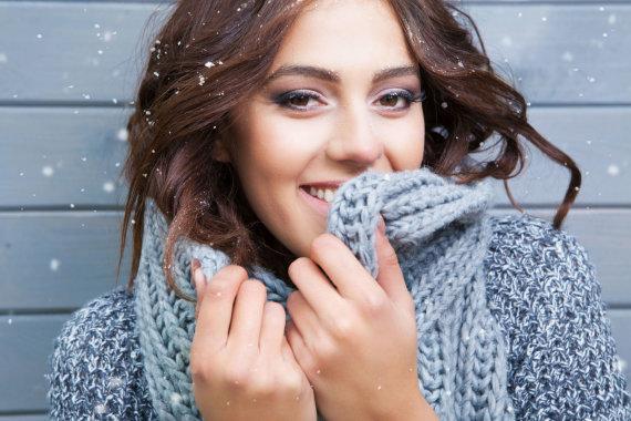 123RF.com nuotr./Moteris žiemą