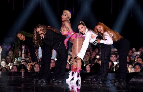 Scanpix / PA Wire / Press Association Images - Photo of Little Mix and Nicki Minaj