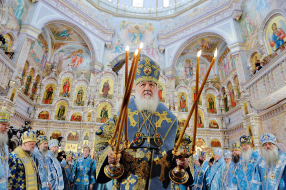 "AFP/""Scanpix"" nuotr./Maskvos patriarchas Kirilas"