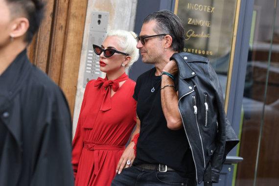 Vida Press nuotr./Lady Gaga ir Christianas Carino