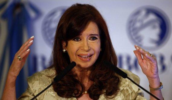 """Reuters""/""Scanpix"" nuotr./Argentinos prezidentė Cristina Fernandez de Kirchner"