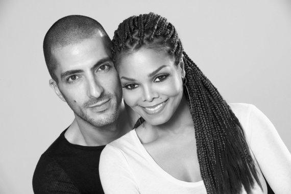 """Scanpix""/AP nuotr./Janet Jackson ir Wissamas Al Mana"