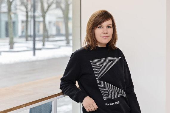 """Martyno Plepio nuotr. /""""Kaunas 2022"""" jaunimo platformos kuratorė Vaida Venckutė-Nagė"""