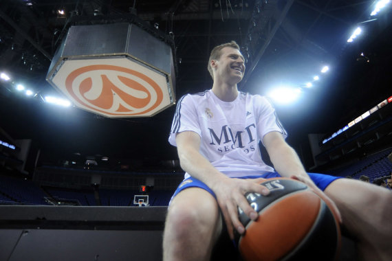 Getty Images/Euroleague.net nuotr./Martynas Pocius 2013 m.