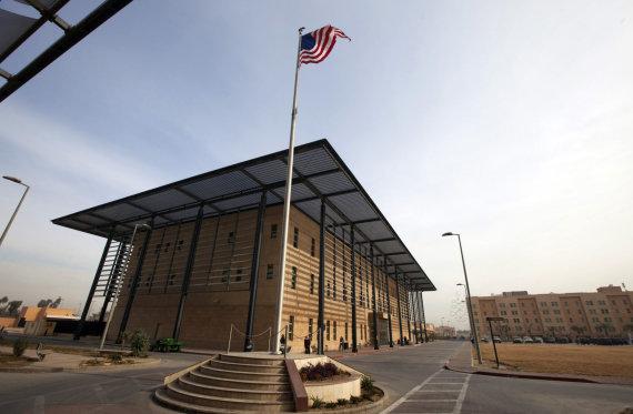 """""""Reuters""""/""""Scanpix"""" nuotr./JAV ambasados kompleksas Bagdade"""
