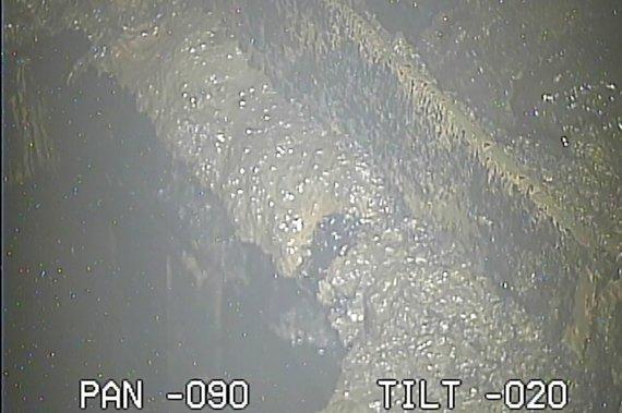 """AFP/""""Scanpix"""" nuotr./Vaizdai iš Fukušimos atominės elektrinės 2-ojo reaktoriaus"""