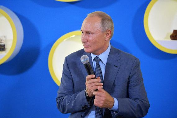 """Scanpix"" nuotr./Vladimiras Putinas"