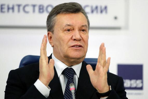 """""""Scanpix""""/AP nuotr./Viktoras Janukovyčius"""
