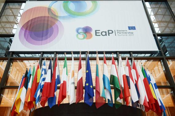 """""""Scanpix"""" nuotr./Rytų partnerystės viršūnių susitikimas Briuselyje 2017 metais"""