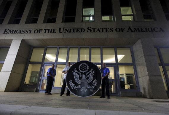 """Reuters""/""Scanpix"" nuotr./JAV ambasada Havanoje"