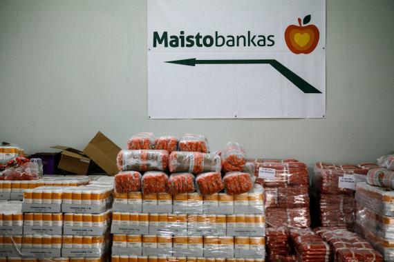 """Eriko Ovčarenko / 15min nuotr./""""Maisto banko"""" produktai"""