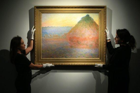 """""""Scanpix""""/""""PA Wire""""/""""Press Association Images"""" nuotr./Claude Monet paveikslas"""