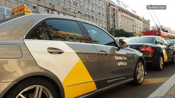 """""""Yandex. Taxi"""" nuotr./""""Yandex. Taxi"""""""
