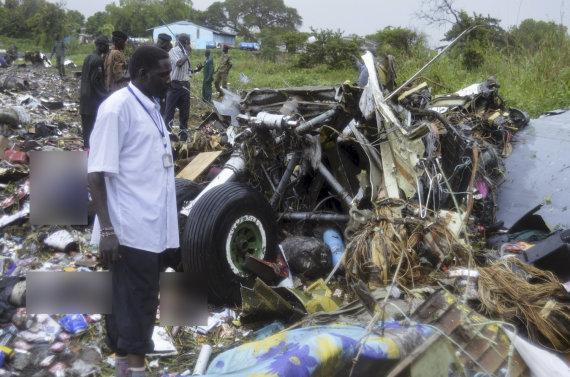 """""""Reuters""""/""""Scanpix"""" nuotr./Pietų Sudane sudužo lėktuvas su ekipažu iš Rusijos"""