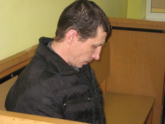 Aurelijos Kripaitės/15min.lt nuotr./Žmoną mirtinai uždaužęs Povilas Valeika pripažintas pavojingu recidyvistu.
