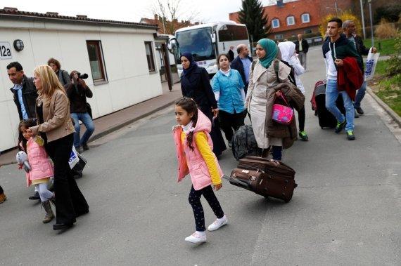 """""""Reuters""""/""""Scanpix"""" nuotr./Pabėgėliai Vokietijoje"""