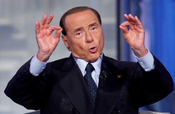 """Reuters""/""Scanpix"" nuotr./Silvio Berlusconi"