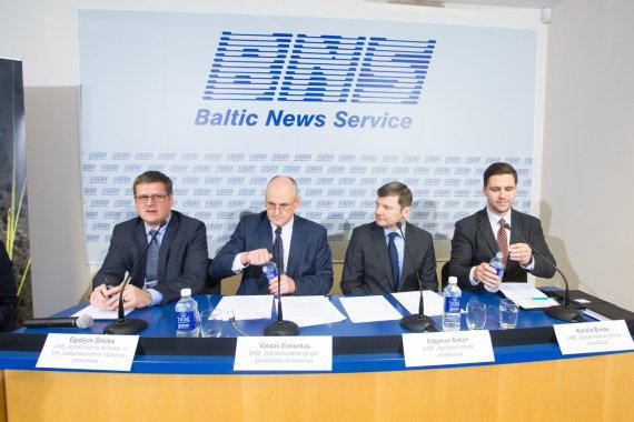Luko Balandžio / 15min nuotr./Egidijus Šileika, Valdas Eimontas, Edgaras Šakys, Karolis Šimas
