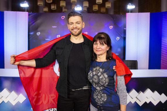 Luko Balandžio / 15min nuotr./Jurijus Veklenko su mama Svetlana