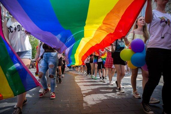 """Žygimanto Gedvilos / 15min nuotr./""""Baltic Pride"""" 2019"""