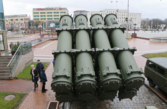 """""""Scanpix"""" nuotr./Raketų sistemos Kaliningrado srityje"""