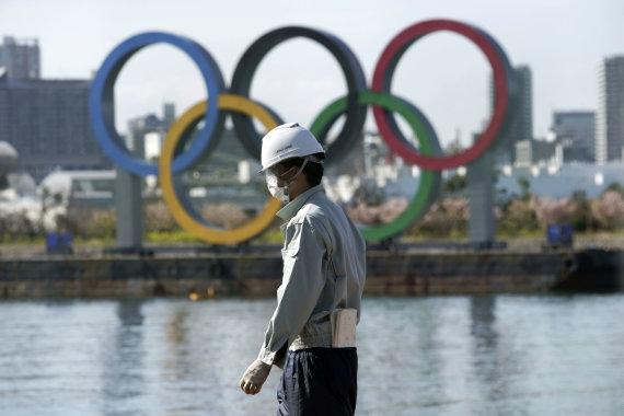 """""""Scanpix"""" nuotr./Tokijo olimpiadą gaubia koronaviruso nežinia"""