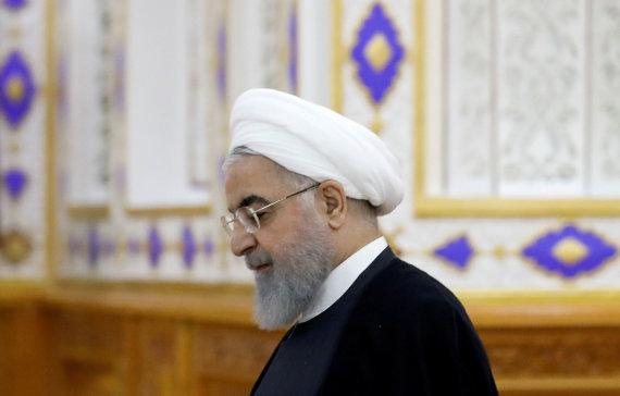 """Reuters""/""Scanpix"" nuotr./Irano prezidentas Hassanas Rouhani"