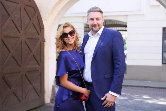 Irmanto Gelūno / 15min nuotr./Dileta Meškaitė-Kisielienė ir Donatas Kisielius
