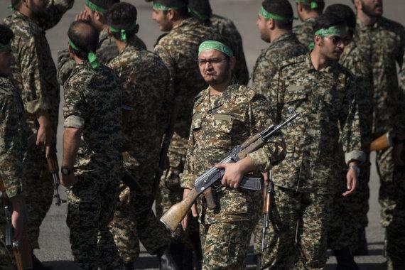 """""""Scanpix""""/""""SIPA"""" nuotr./Irano Revoliucinė gvardija"""