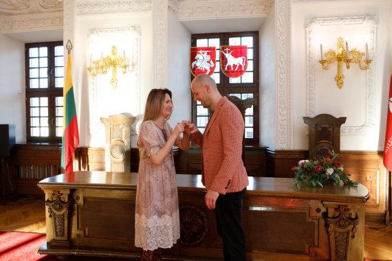 Eriko Ovčarenko / 15min nuotr./Ingridos Rutkauskaitės ir Donato Naujoko vestuvės