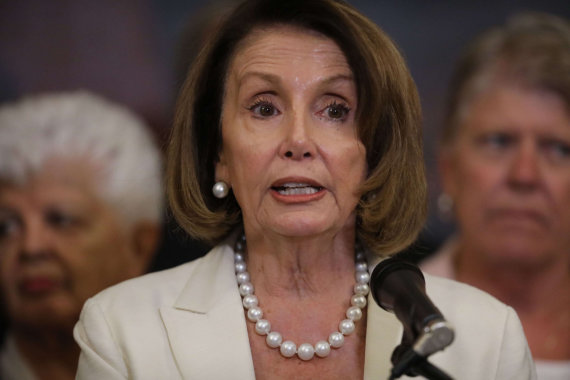 """""""Scanpix""""/AP nuotr./Nancy Pelosi"""