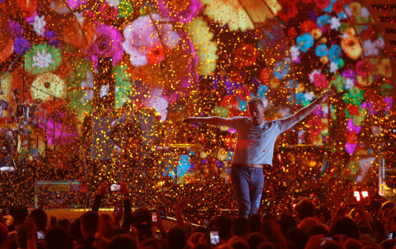 """Scanpix"" nuotr./""Coldplay"""