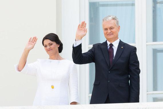 Žygimanto Gedvilos / 15min nuotr./Lietuvos Respublikos prezidento rūmų perdavimo ceremonija