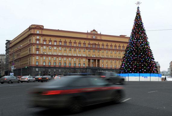 """AFP/""""Scanpix"""" nuotr./Rusijos Federalinės saugumo tarnybos būstinė"""