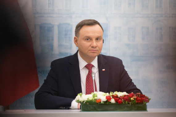 Žygimanto Gedvilos / 15min nuotr./Andrzejus Duda