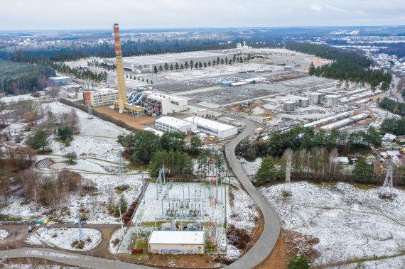 Būsimosios gamyklos Pagiriuose vizualizacija
