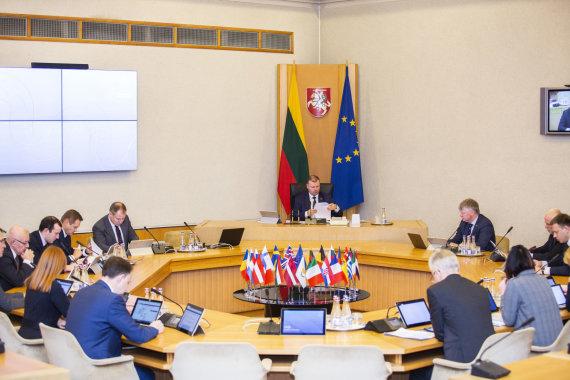 Luko Balandžio / 15min nuotr./Vyriausybės posėdis