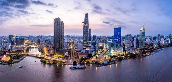 """""""Shutterstock"""" nuotr./Saigonas (Hošiminas), Vietnamas"""